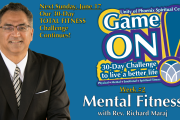 "06.10.2018 - ""Game On! Mental Fitness"" with Rev. Richard Maraj"