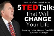 """09.08.2019  - """"Five TED Talks That Will Change Your Life - Part 5"""" by Rev. Richard Robers"""