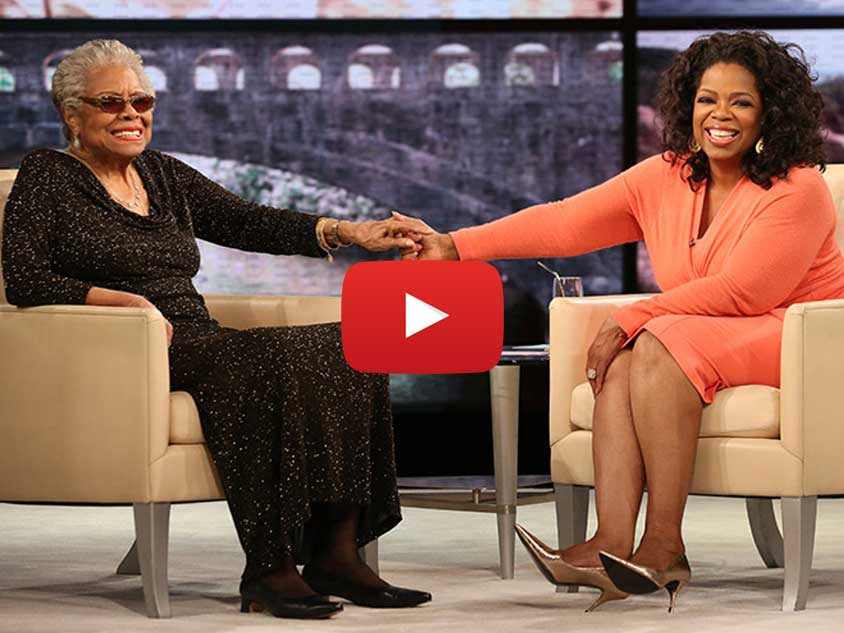 Oprah Winfrey and Maya Angelou discuss Unity